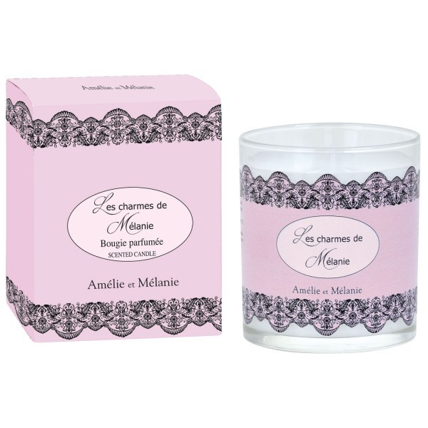 Perfumed candle - Jasmin & Lily of valley -140 g - Lothantique