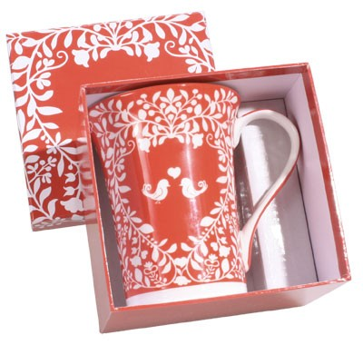 Tea mug set with Perfumed Candle -  Atelier Catherine Masson