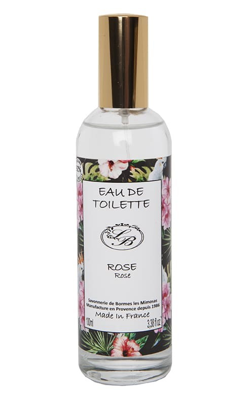 Toilet water  - Rose  - 100 ml - Savonnerie de Borme