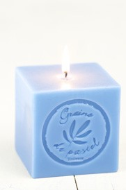 Scented candle with Isatis tinctoria extract - Graine de pastel