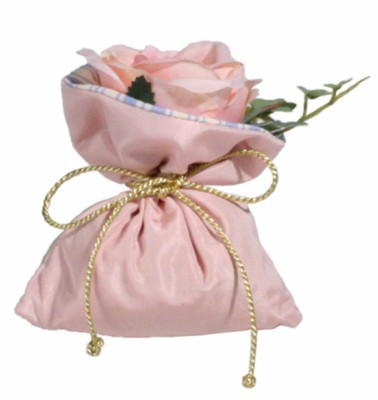 Small sachet Rose dragée - Atelier Catherine Masson